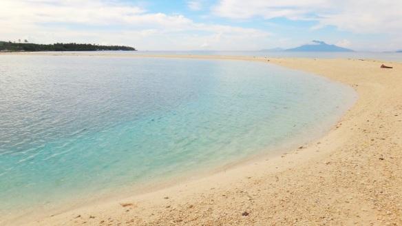 Higatangan Island sandbar at mid-afternoon, Biliran, Visayas, Philippines