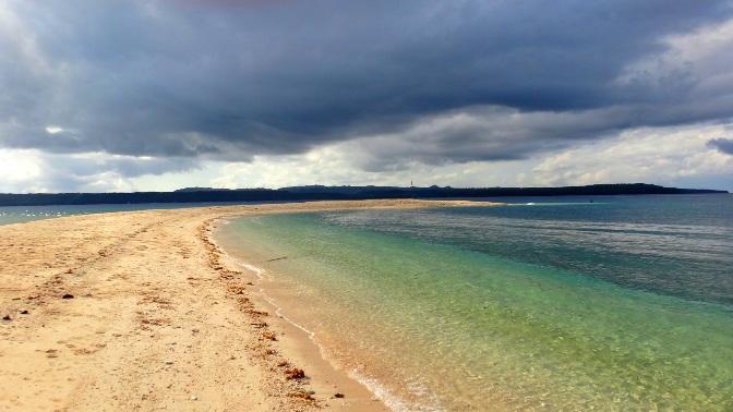 Higatangan Island sandbar, Biliran, Visayas, Philippines