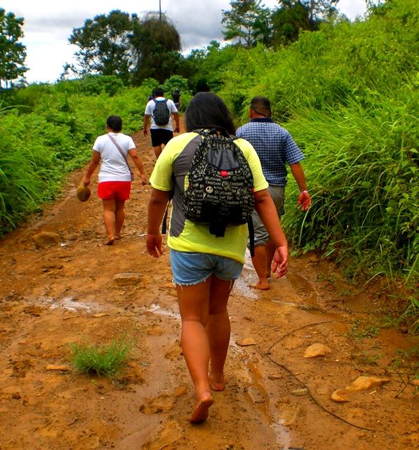 The Barefoot Trekking (And Slipping, Sliding) Challenge to ...