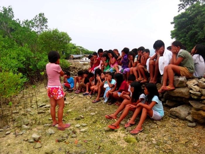 Danjugan Island marine awareness camp oneness with nature activity