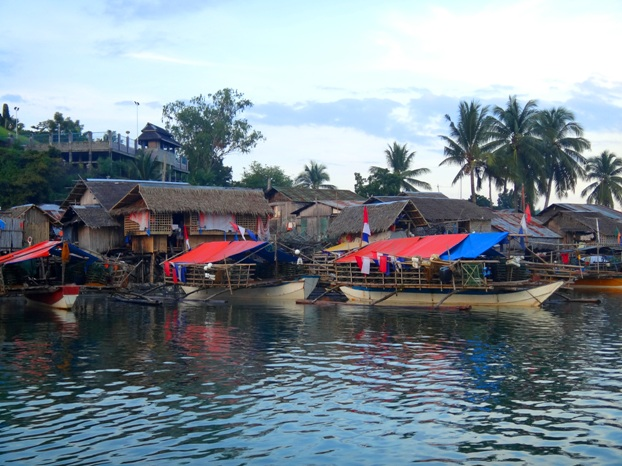 Fishing community - Palina river cruise, Roxas City, Capiz, Philippines