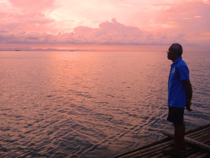 open sea at Palina River Cruise, Roxas City, Capiz, Philippines