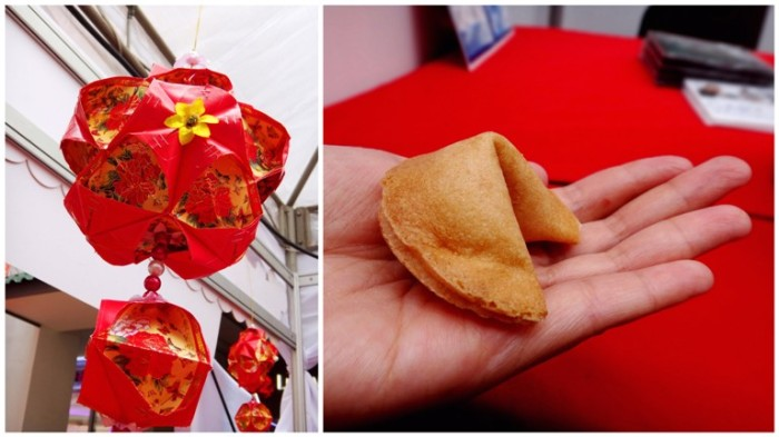 Chinese lantern, fortune cookie, Chinese New Year 2013, Lucky Mall Chinatown, Binondo, Manila, Philippines