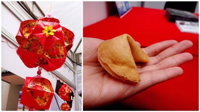Chinese lantern, fortune cookie, Chinese New Year 2013, Lucky Mall Chinatown, Binondo, Manila, Philippines