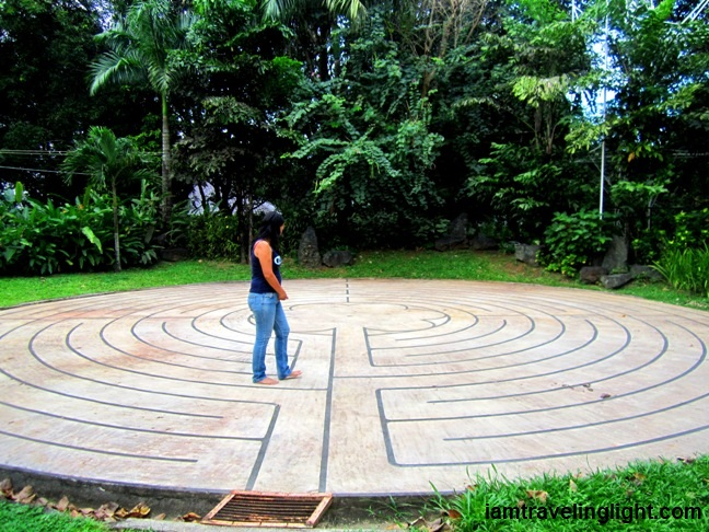 Labyrinth, retreat, recharge for broken heart, Antipolo, Philippines watermarked