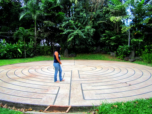 Labyrinth, retreat, recharge for broken heart, Antipolo, Philippines