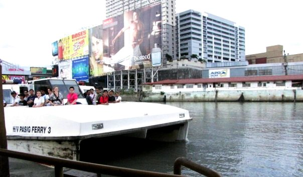 Pasig River Ferry photo by Cielo Lazo