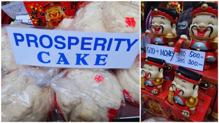 Prosperity cake, God of Money, Chinese New Year, Ongpin, Binondo, Manila, Philippines