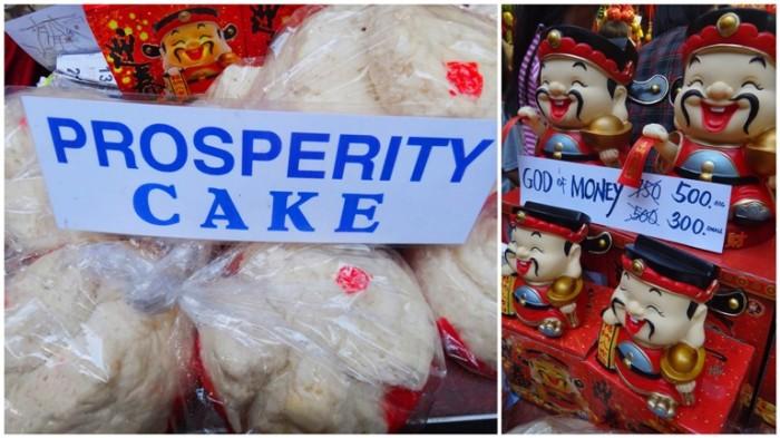 Prosperity cake, God of Money, Chinese New Year, Ongpin, Binondo, Manila, Philippines
