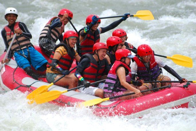 Whitewater rafting, Cagayan de Oro, CDO, Mindanao, Philippines