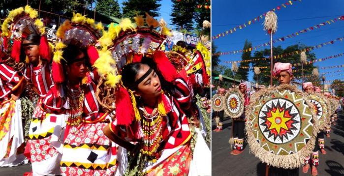 Dancers, Malaybalay Municipality (Bukidnon tribe), Kaamulan Festival Street dance 2013, Malaybalay, Bukidnon, Mindanao, Philippines