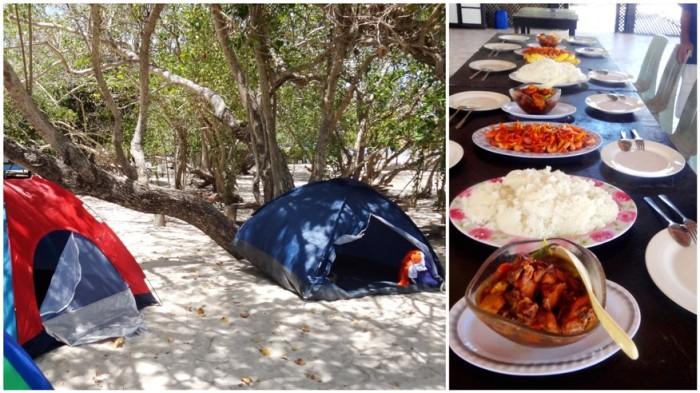 camping, Apo Island, Apo Reef, Sablayan, Occidental Mindoro, Philippines