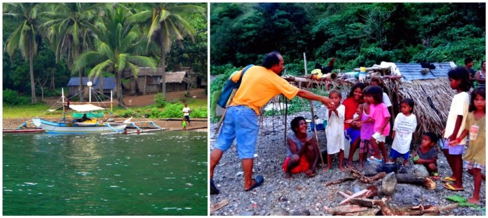 Two communities at Sitio Disigisaw, Barangay San Ildefonso, Casiguran, Aurora, Philippines