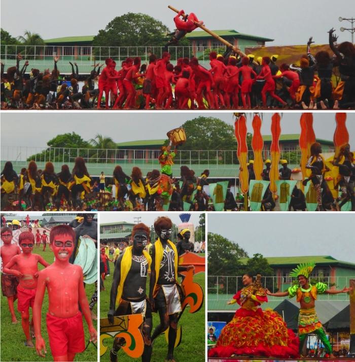 Champion, first place,Tribu Bungkaras contingent, Pintados-Kasadyaan Festival, Pintados 2013, Tacloban, Leyte, Philippines