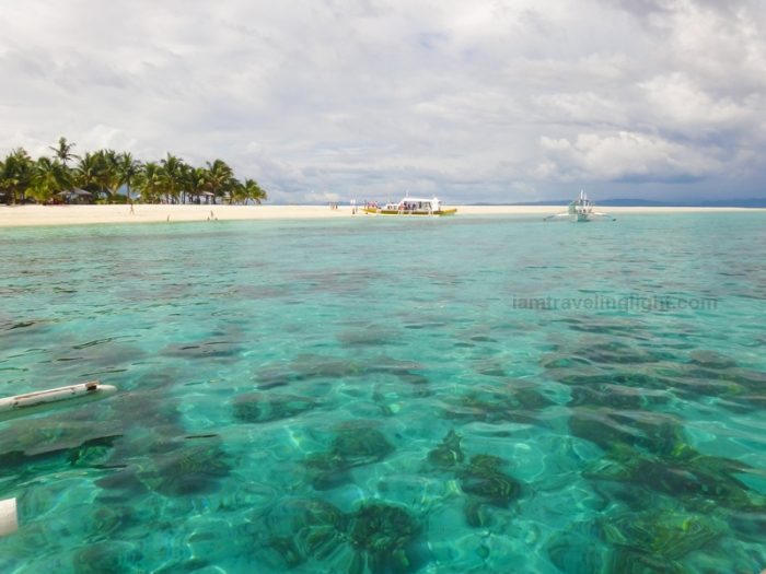 clear waters, sand bar, approaching Kalanggaman island sandbar, Palompon, Leyte, Philippines