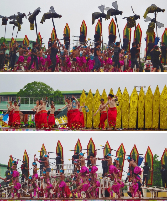 Second place, Tribu Kasiruman contingent, Pintados-Kasadyaan Festival, Pintados 2013, Tacloban, Leyte, Philippines