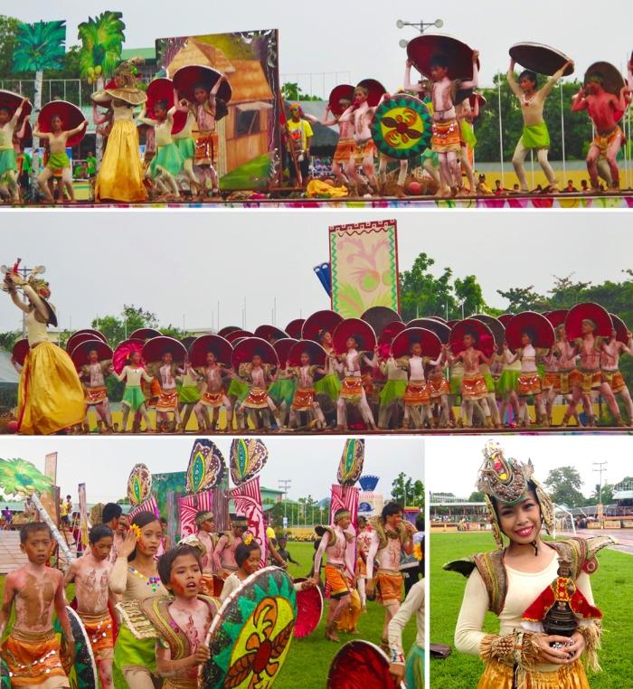 Third place, Tribu Manangguite contingent, Pintados-Kasadyaan Festival, Pintados 2013, Tacloban, Leyte, Philippines