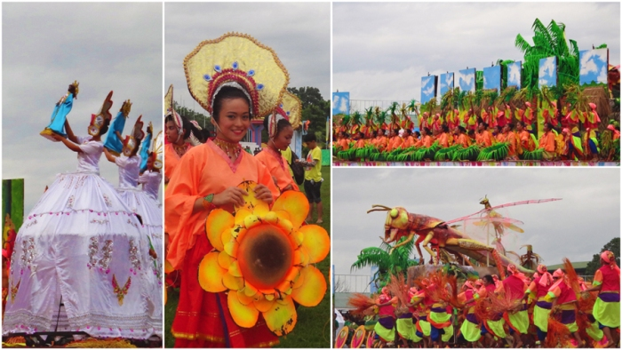 Third place, Viajedores contingent, Kasadyaan Festival 2013, Tacloban, Leyte, Philippines