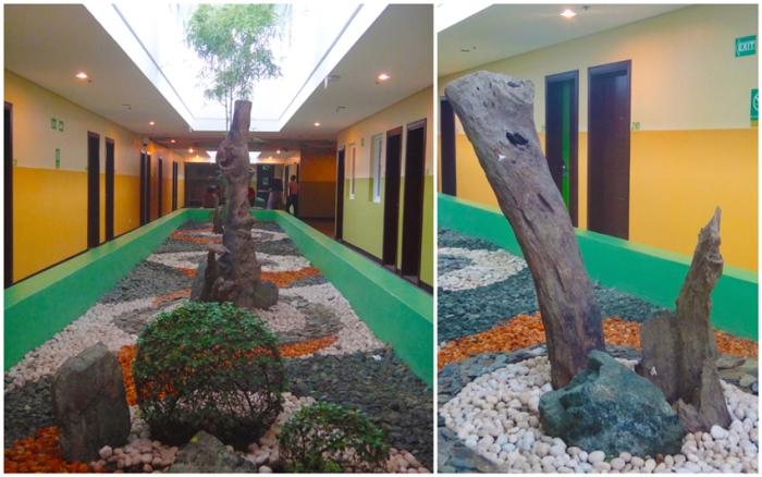 Zen garden, hall, Go Hotels Tacloban, Leyte