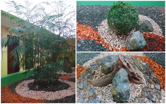 Zen garden, Zen rock garden, Go Hotels Tacloban, Leyte, Philippines, budget hotel, cheap hotel
