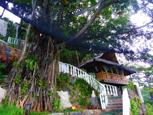 tree house, spa vacation, Luljetta's Hanging Gardens and Spa, Loreland Farm Resort, Antipolo, Philippines, near Manila