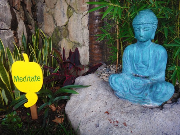 wellness reminder, meditate sign, spa vacation, luljetta's hanging gardens and spa, loreland farm resort, antipolo