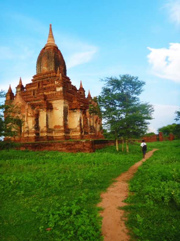 untouched unspoiled bagan myanmar temple