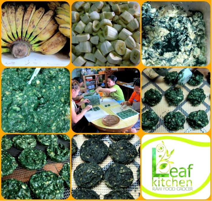 eco-friendly relief goods, raw green pancakes, Green Releaf sustainable relief and response to Typhoon Haiyan