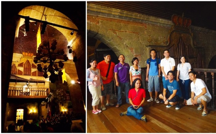 (Left) Bamboo Organ Festival 2013 gala night (Right) With travel bloggers
