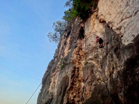 me rock climbing, life lessons, Tinandog Wall, Atimonan, Quezon, Philippines