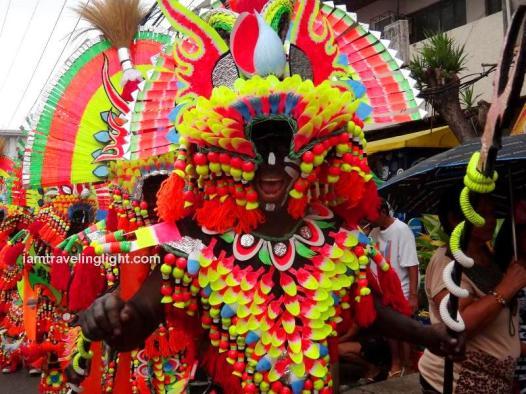 Black Beauty Boys, Champion, first place, Big Tribe category, Kalibo Ati-atihan Festival 2014