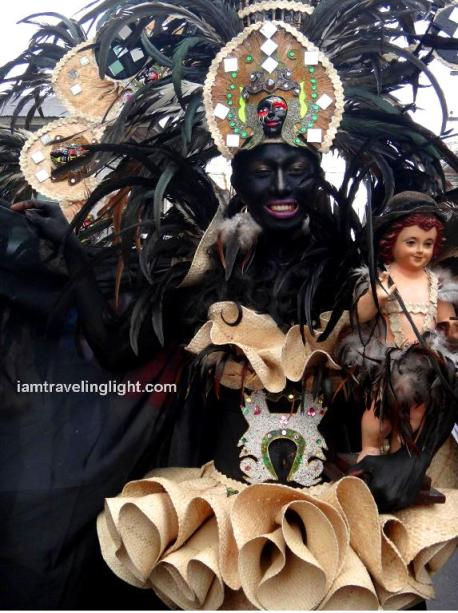Diyosa Negra, Champion, first place, individual category, Kalibo Ati-atihan Festival 2014
