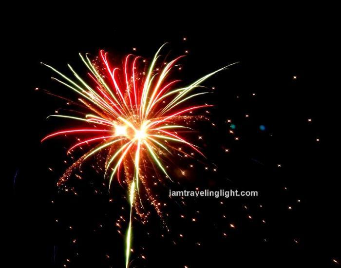 fireworks, Kalibo Ati-atihan Festival 2014