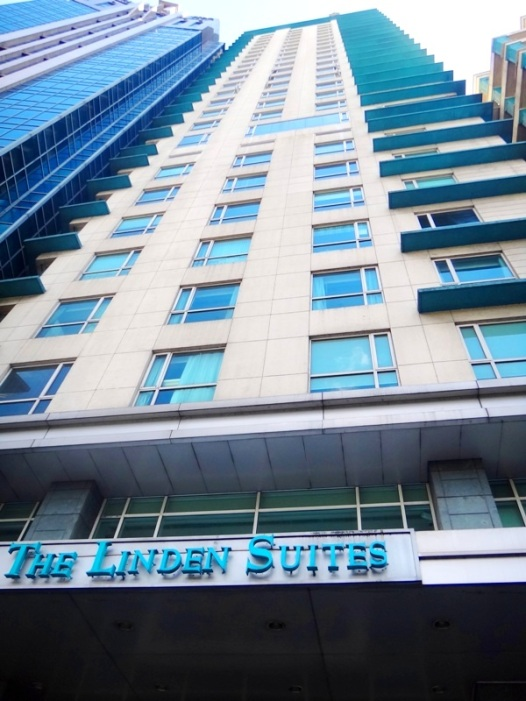 building, Linden Suites, business hotel, Ortigas, Pasig City, Manila