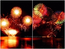 Philippines, fireworks, closing performance, 5th Philippine International Pyromusical Competition 2014 SM Mall of Asia MOA