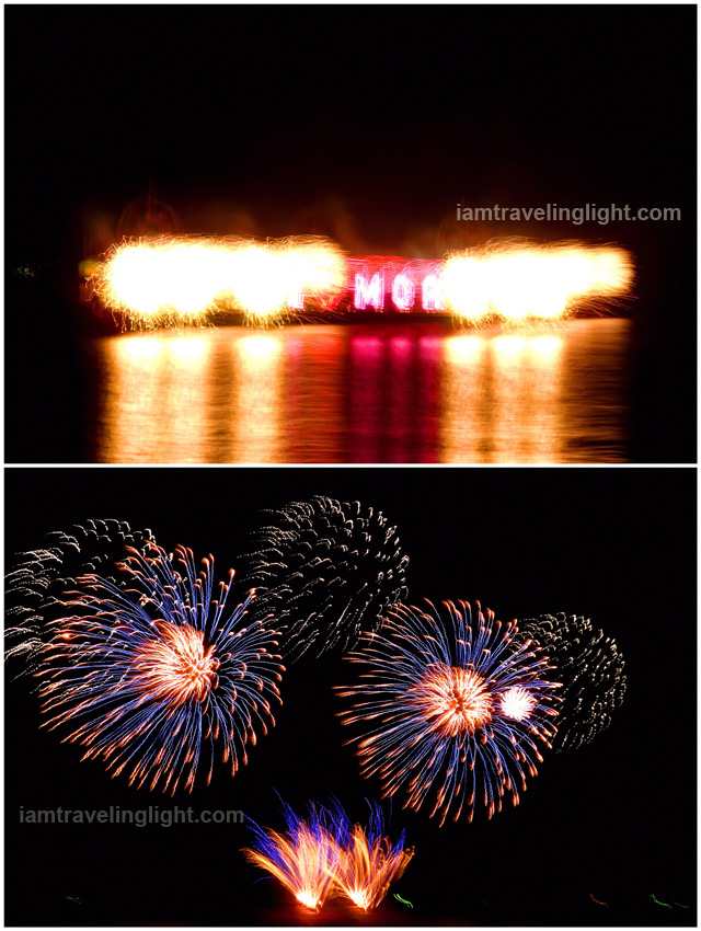 Philippines, fireworks, closing performance, 5th Philippine International Pyromusical Competition 2014, SM Mall of Asia MOA