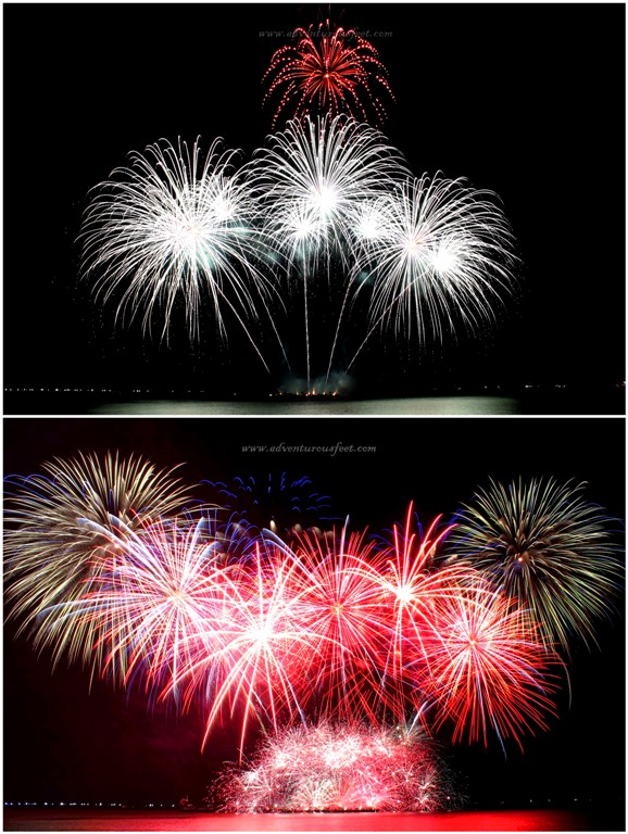 United Kingdom (UK), fireworks display, 3rd place (2nd runner-up) 5th International Pyromusical, Mall of Asia, Metro Manila, Philippines