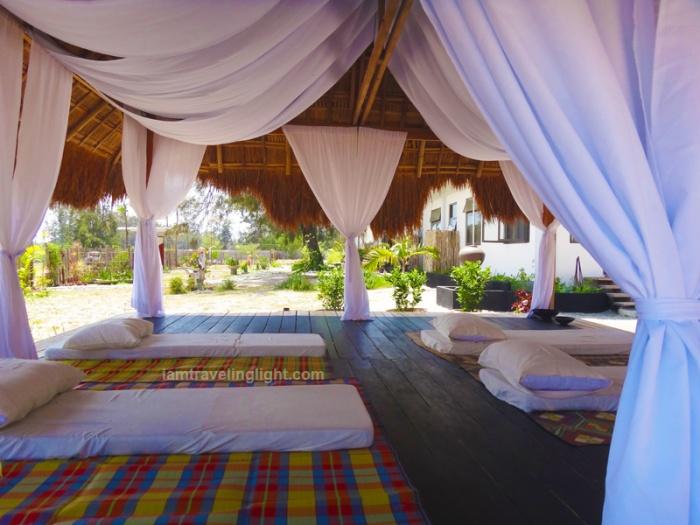 lanai, massage, open hut, native hut, Zambawood Resort, luxury resort, advocacy resort, La Paz, San Narciso, Zambales