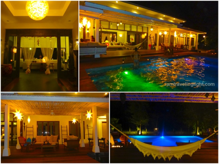 Soft, romantic lights, star lanterns, night, infinity pool, hammock, Zambawood Resort, luxury resort, advocacy resort, La Paz, San Narciso, Zambales