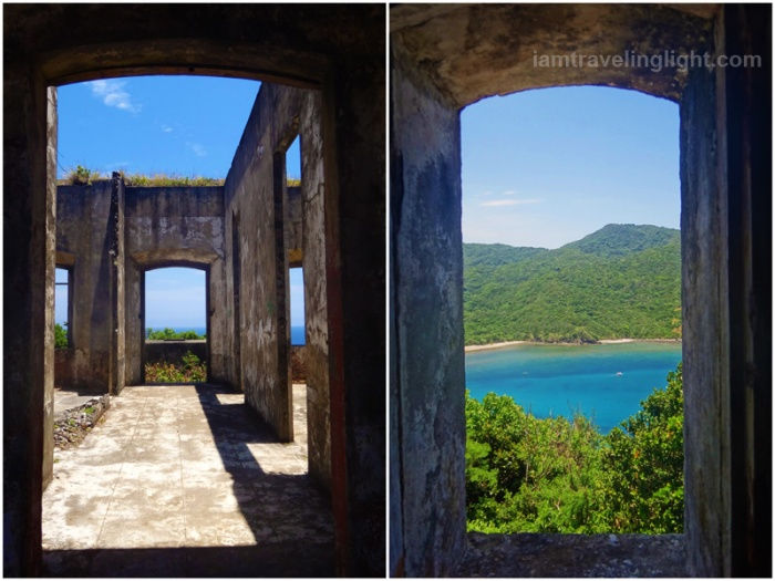 Cape Engano lighthouse, old, historical, centuries, view of Siwangag Cove, Palaui, CNN world's best beach, top beach, Santa Ana, Cagayan, Philippines