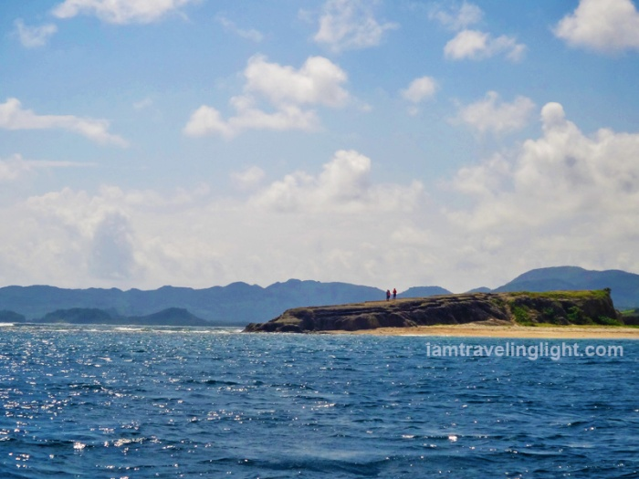 Crocodile Island from afar, island hopping, Palaui, best, CNN top beach in the world, Santa Ana, Cagayan, Philippines