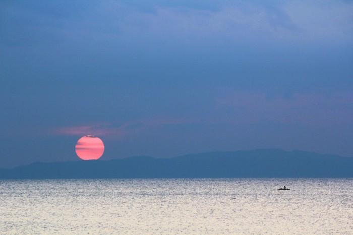 Donsol sunset