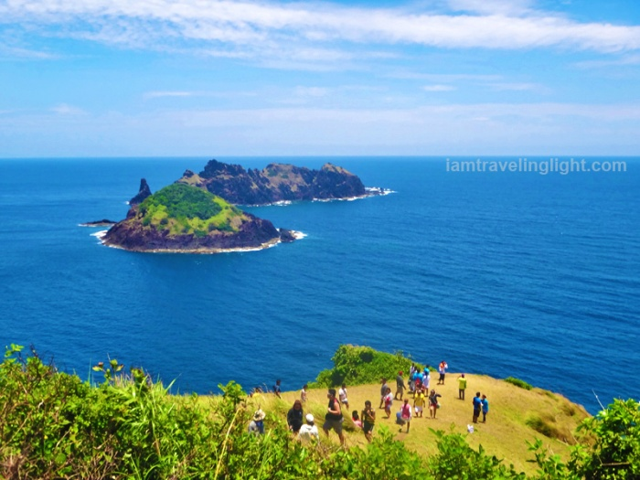 Dos Hermanas islands, view from the top, Cape Engano, Palaui, Santa Ana, Cagayan,