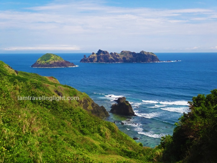 Dos Hermanas islands, view from the top, Palaui, Santa Ana, Cagayan, trek Cape Engano