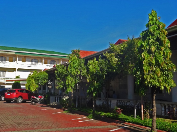 President Hotel, budget hotel, grounds, Lingayen, Pangasinan, former Fidel Ramos house