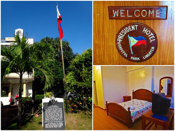 President Hotel, budget hotel, historical marker, bedroom, Lingayen, Pangasinan, former Fidel Ramos house