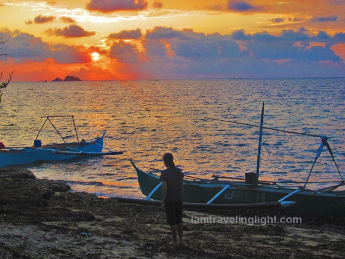 sunrise, boats, Punta Verde beach, Palaui, best, CNN top beach in the world, Santa Ana, Cagayan, Philippines