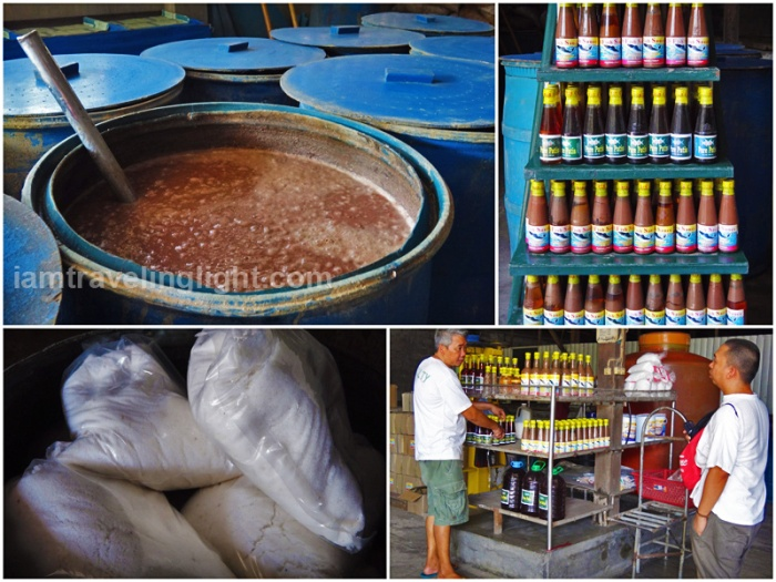 bagoong and patis (fish sauce and fish paste) factory, salt, Lingayen, Pangasinan, places to visit