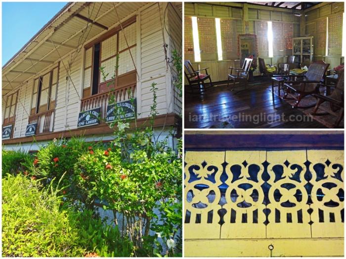 Cruz ancestral house, old house, callado Lingayen, Pangasinan