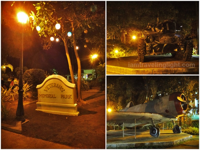 park near capitol building, Veterans Memorial Park, war weapons, jet, Lingayen, Pangasinan
